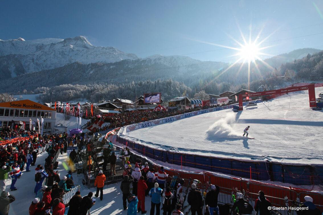 Coupe du monde ski alpin à Chamonix ©Gaetan Haugeard