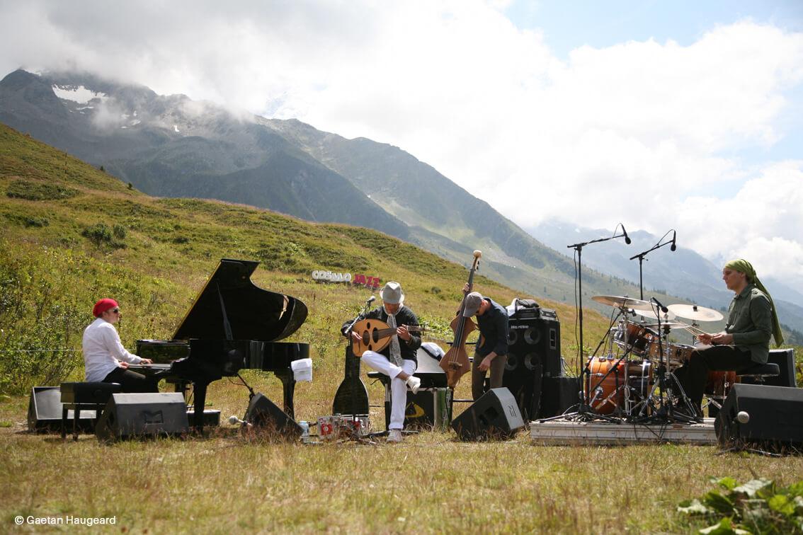 Festival Cosmojazz à Chamonix ©Gaetan Haugeard
