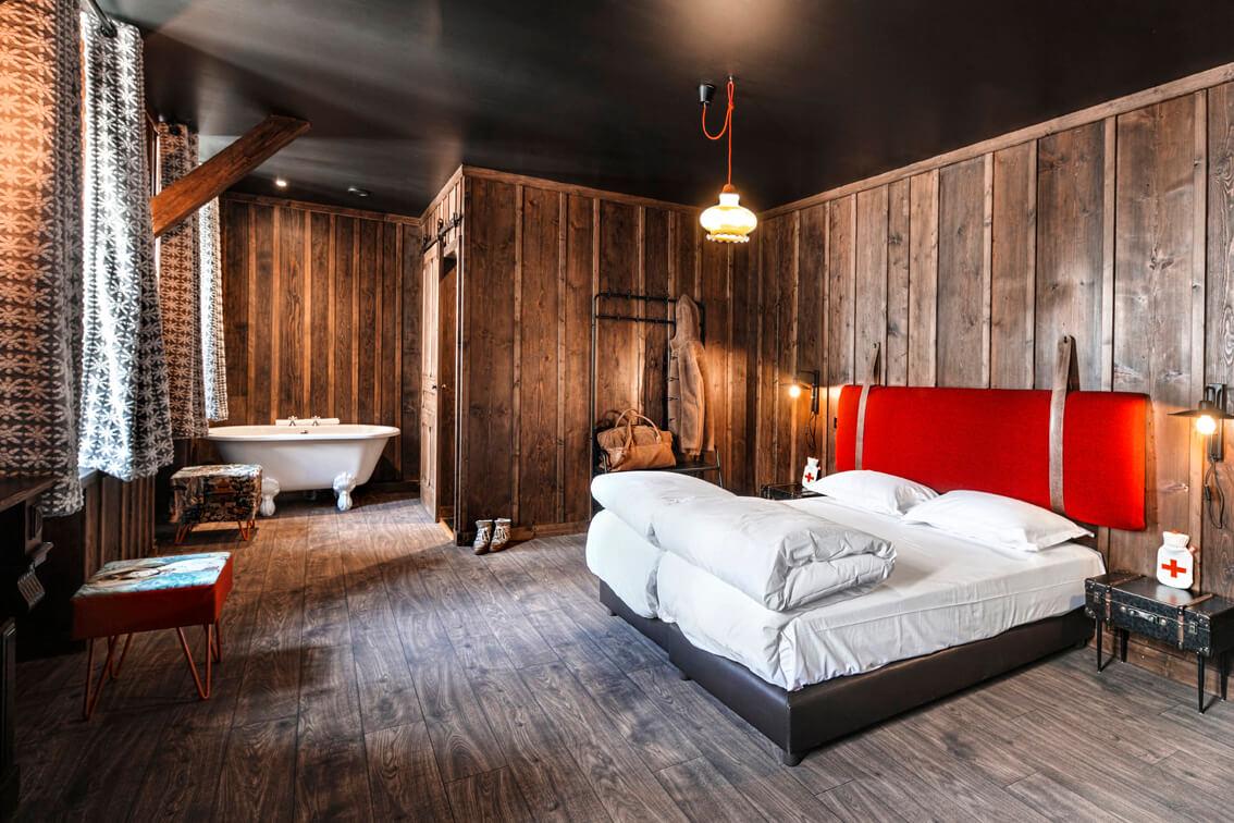 Hotel en pleine montagne, seminaire à Chamonix