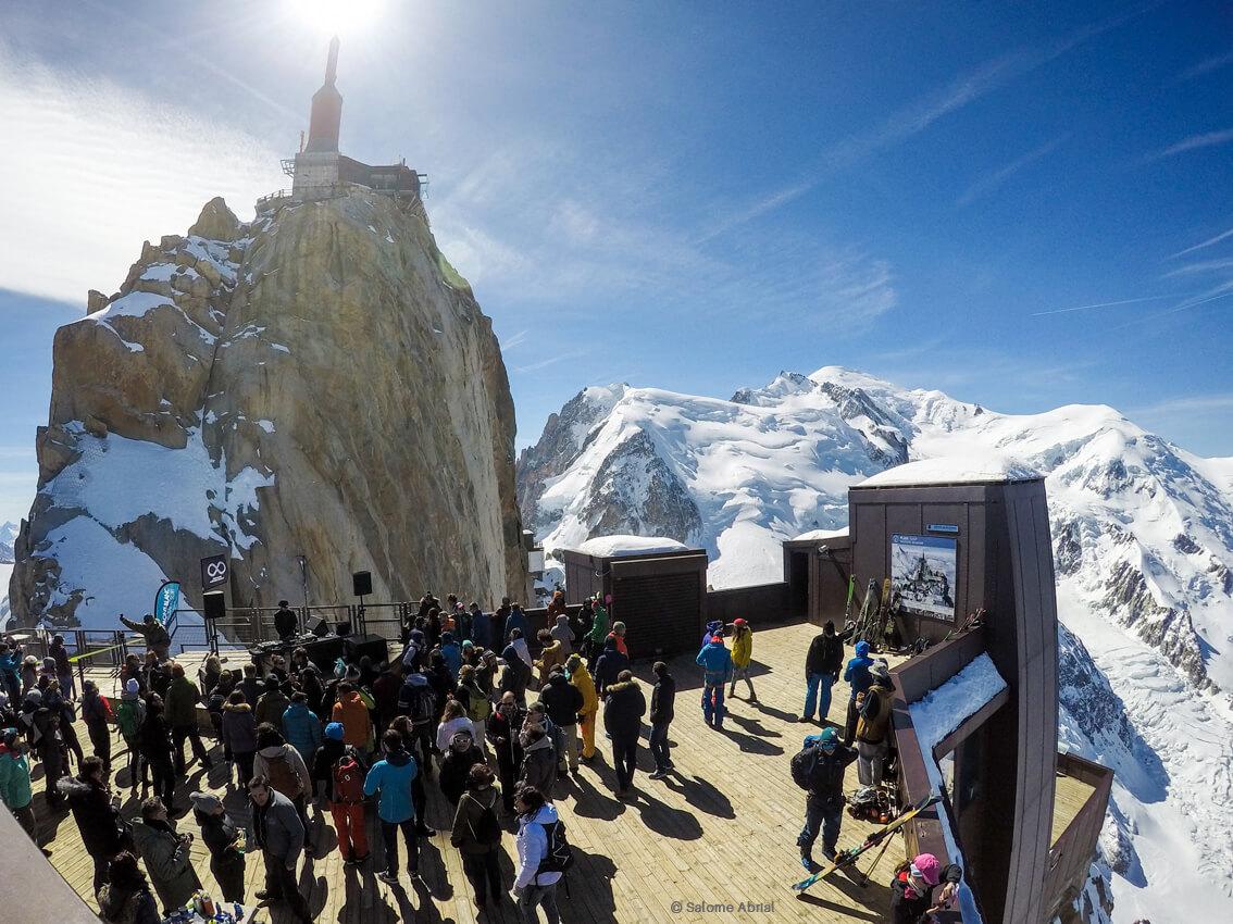 Réunion au sommet à Chamonix ©Salome-Abrial